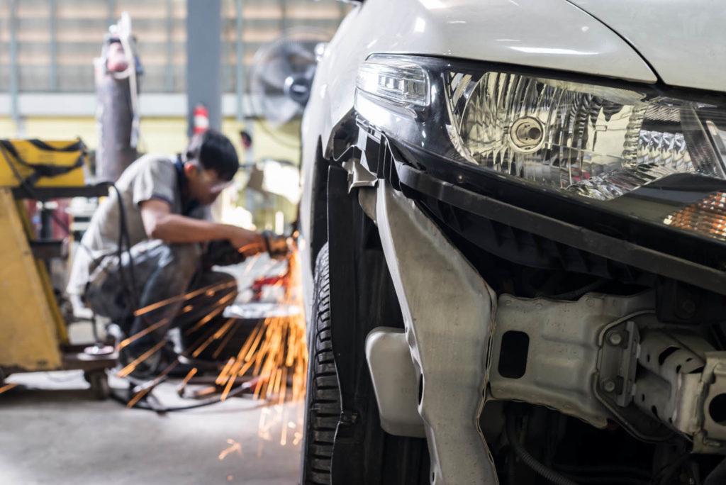 professional accident repair