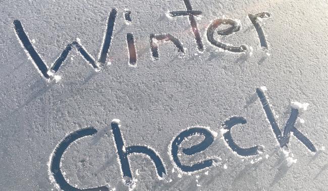 More Winter Checks